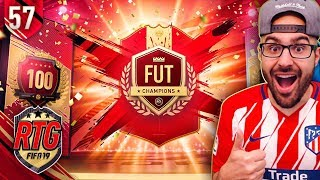 YES! MY HIGHEST PLAYER PICK TOP 100 REWARDS! FIFA 19 Ultimate Team #57 RTG