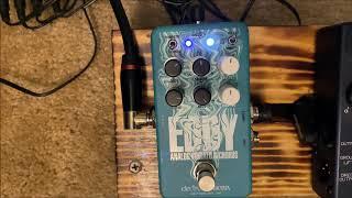 EHX Eddy Chorus/Vibrato Bass Doodling