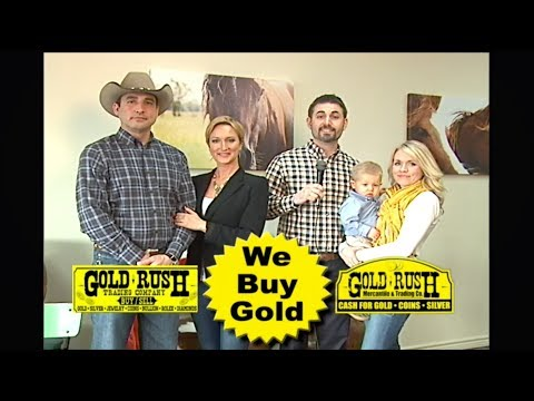 Buy & Sell Gold, Silver, Jewelry, Coins | Gold Rush Trading Co | Longview Tyler, TX