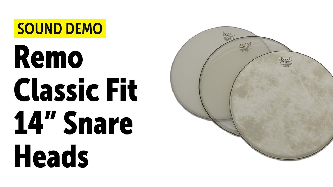 """Remo 16/"""" Clear Ambassador Classic Fit Drumhead"""