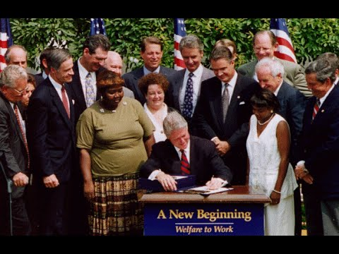 Bill Clinton used Lillie Harden as a political prop for Welfare Reform