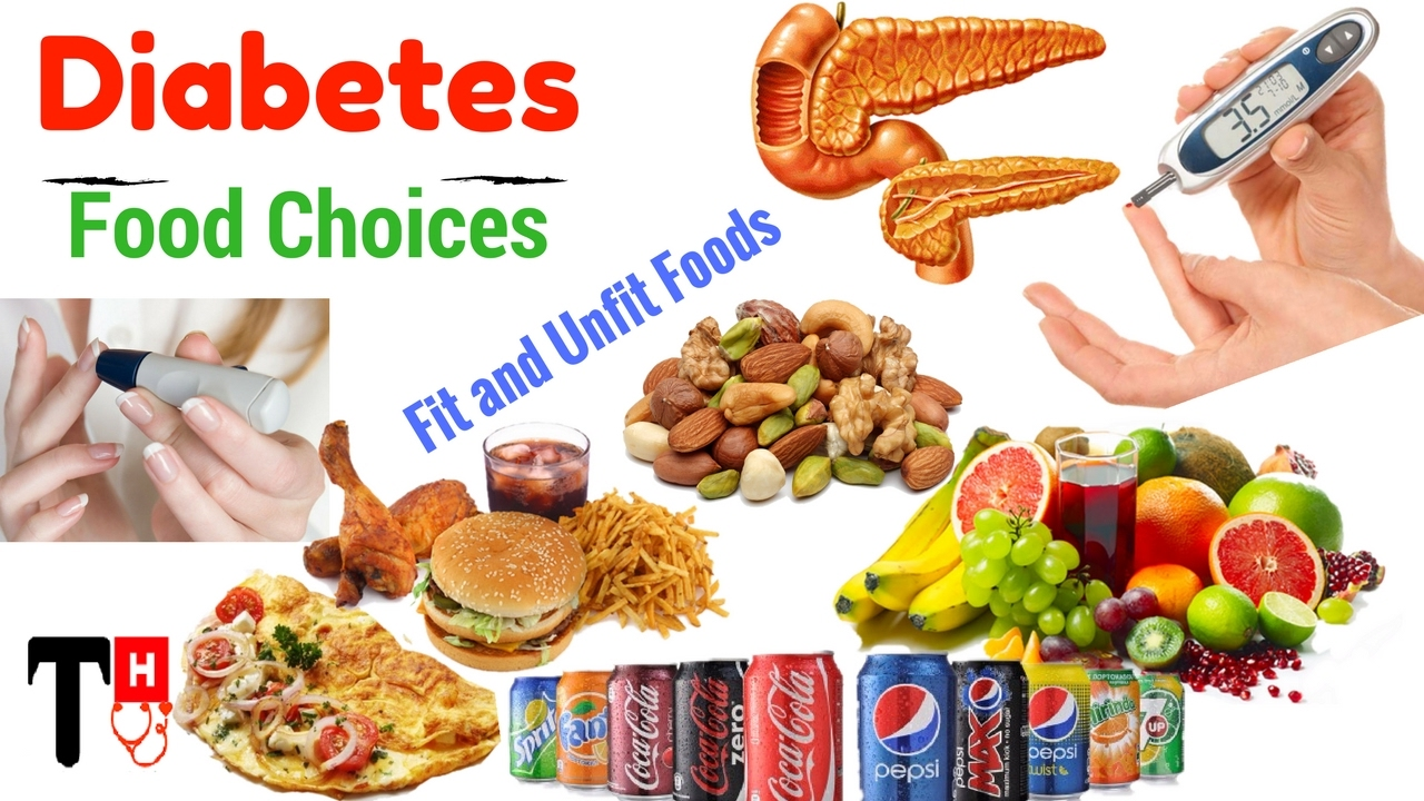 Diabetes And Food Choices Fit And Unfit Foods For Diabetics