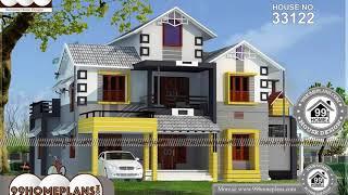 Indian House Design By 99HOMEPLANS COM [ Esp: M090 ]