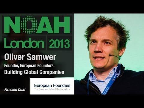 Oliver Samwer, European Founders - Building Global Companies - NOAH13