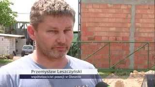 Policja bije mieszkańców Oleszna
