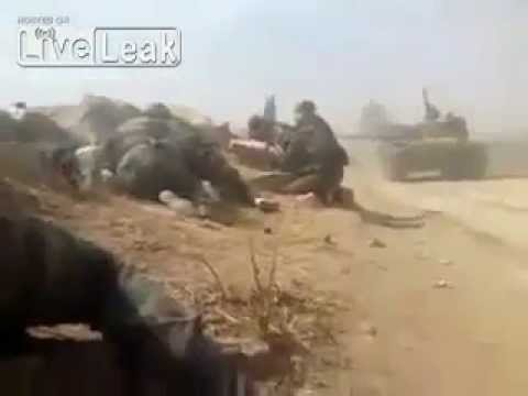 Syrian Arab Forces In Action Against FSA Rebels   Syria War 2013