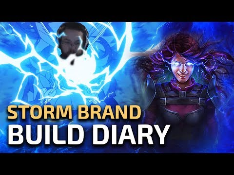 Adjusting to Endgame - Storm Brand Elementalist [Build Diary #2]