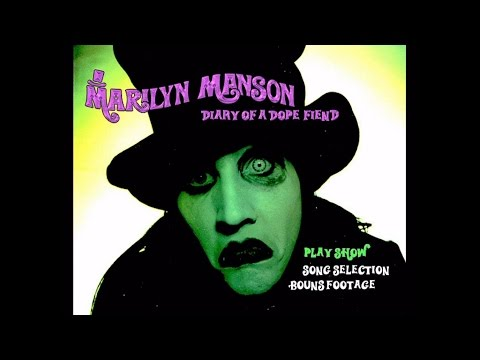 Marilyn Manson Diary of a Dope Fiend LIVE DVD