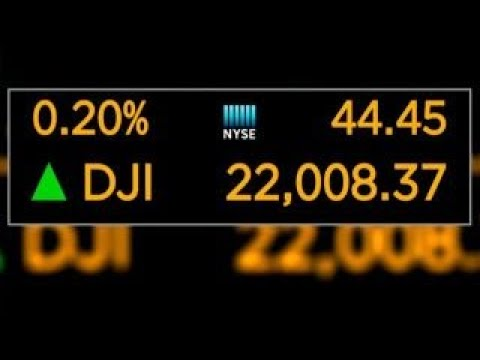 Dow hits 22,000 for the first time