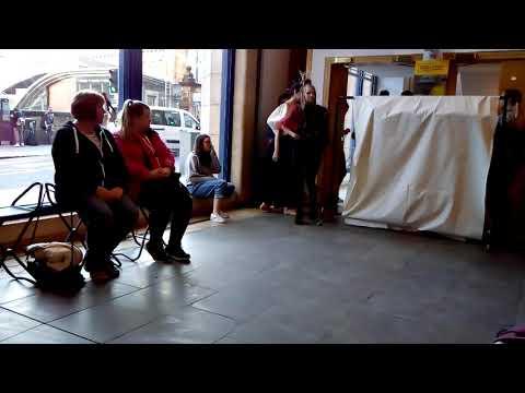A Fine Line Fashion Show at City Art Centre in Edinburgh