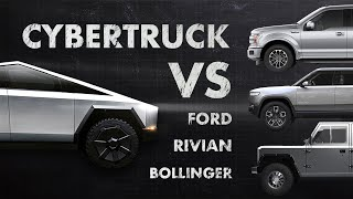 Download Tesla Cybertruck - Ugly & Amazing: Design, Specs & Comparison with Rivian, Ford & Bollinger Mp3 and Videos