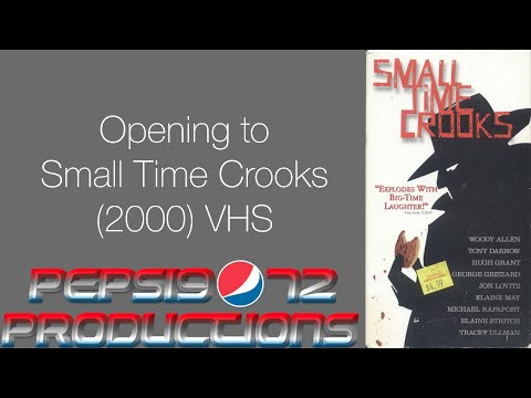 to Small Time Crooks 2000 VHS