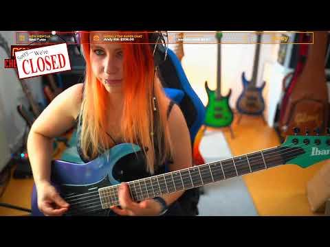 Metal Morning Guitar & Chill Stream! - #MetalFriday #LIVE! - 142