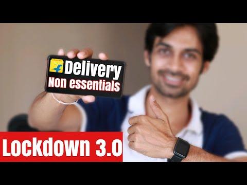 E-commerce Non-essential Delivery starts ⚡ with ZONES | Lockdown 3.0 | Amazon Flipkart