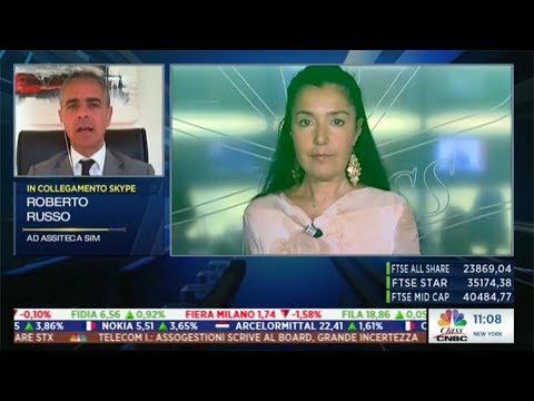 """Roberto Russo su Class CNBC - """"I mercati in diretta"""" 27 luglio 2017"""