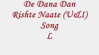 Sab rishte naate full song with English translation