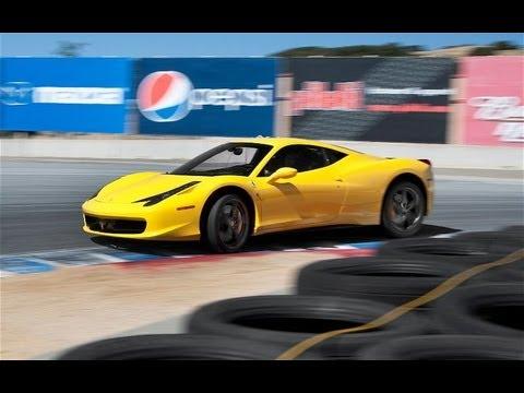 2010 Ferrari 458 Italia Hot Lap! - 2011 Best Driver's Car Contender