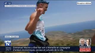 Bfm TV  2019 - 4è Swimrun Côte Vermeille au JT