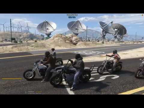 DOJ Cops Role Play Live - Motorcycle Gang (Criminal)