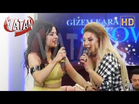 Gizem Kara Ankaralı Hadise Düeti Vatan Tv -Erik Dalı