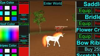 How to make Rapidash on Horse World! | Roblox