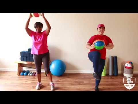 Better U Beach Ball Exercises