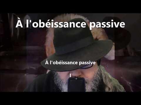 À l'obéissance passive - Victor Hugo lu par Yvon Jean