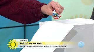 Nyhetsmorgon i TV4 från 2017-11-21: Varför kan en backhoppare flyga...