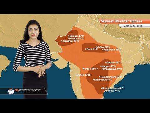 Weather Forecast for May 25: Mumbai, Bangalore to receive rain, heatwave in Telangana