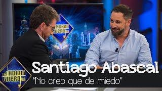Santiago Abascal en 'El Hormiguero 3.0':
