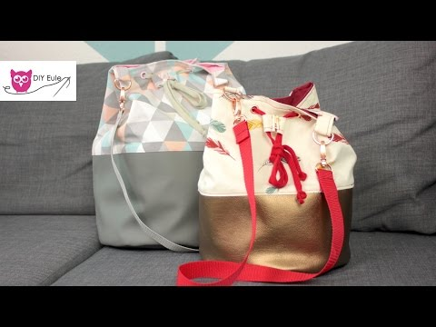 Bucket Bag nähen & VERLOSUNG!
