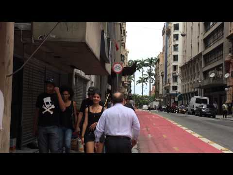 Real Life on the Streets Sao Paulo