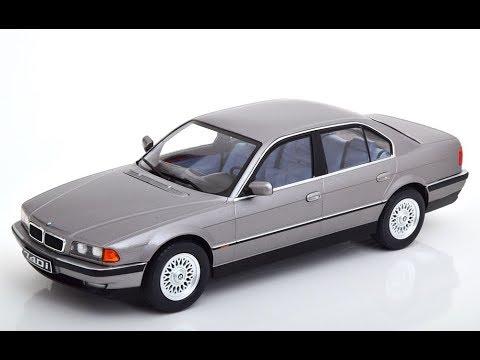BMW 740i E38 1.Serie 1994 blau metallic 1:18 KK-Scale  *NEW