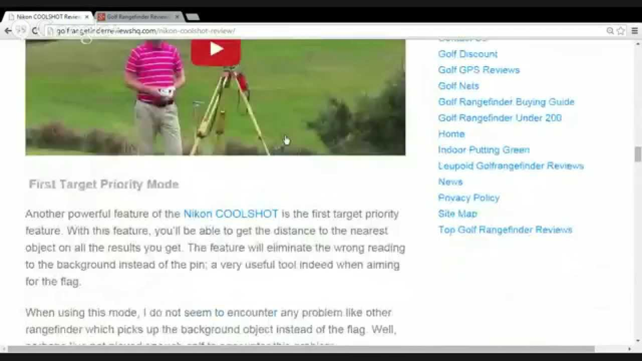 Golf dating site reviews