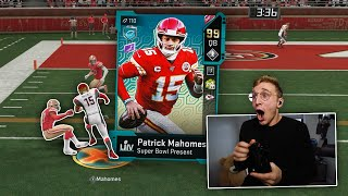 99 MVP Mahomes is a GLITCH...