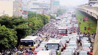 Nhịp Sống Đô Thị - Số 2 - Ùn tắc giao thông tại Hà Nội là do đâu?