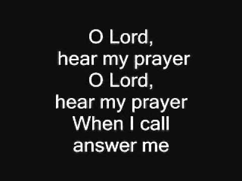 Please hear my prayer