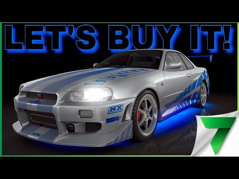 BUYING THE R34 GT-R FAST & FURIOUS EVENT! | CSR Racing 2