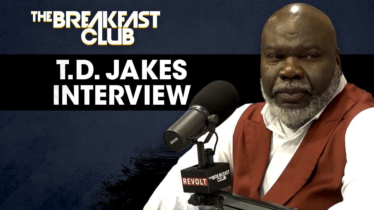 Image result for bishop td jakes on the breakfast club