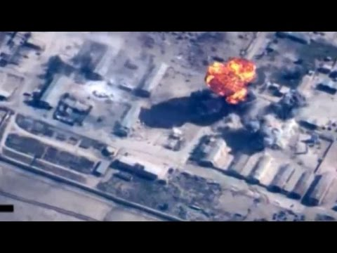 Jordan army releases video of strikes against IS positions
