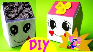 DIY Оригами ОРГАНАЙЗЕР Kawaii. Как сделать ведро для мусора | Origami How to Make Paper RUBBISH BIN(Оригами DIY для рабочего стола: ОРГАНАЙЗЕР Kawaii. Как сделать своими руками ведро из бумаги. Корзинка, коробочк..., 2017-02-22T13:00:02.000Z)