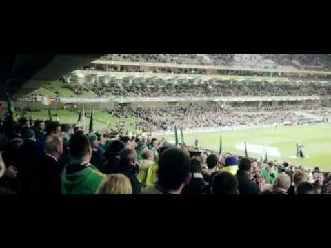 Republic of Ireland Fans Protest