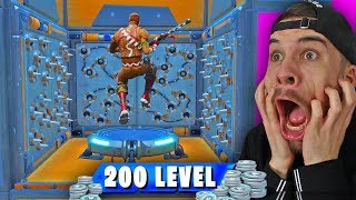 200 LEVEL DEATHRUN | Fortnite Creative Mode