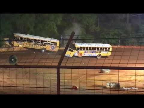 Flomaton Speedway School Bus Racing