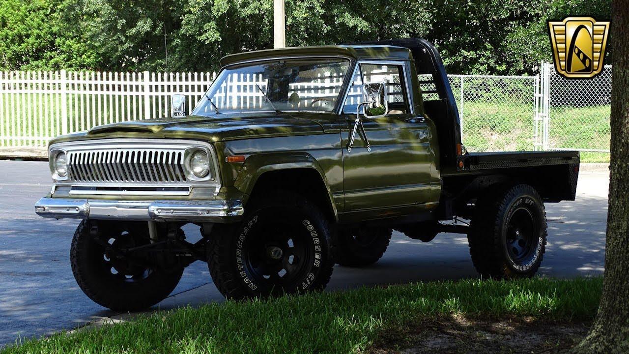 1976 Jeep J10 Gateway Orlando #916 - YouTube