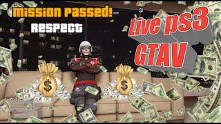 LIVE DE GTAV PS3,  BORA  SERVIÇOS  MATA  MATA , ((VOLTEI))
