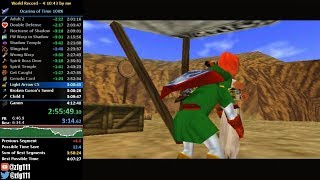 Ocarina of Time 100% Speedrun in 4:10:17