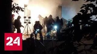 Склад в Москве охвачен огнем: погибли 5 пожарных