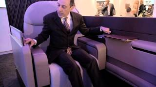 Reveal of First Class on the Qatar Airways Airbus A380