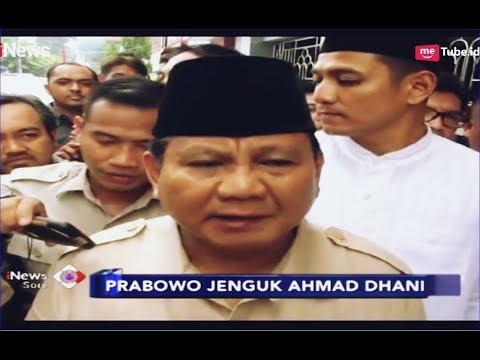 Jenguk Dhani, Prabowo: